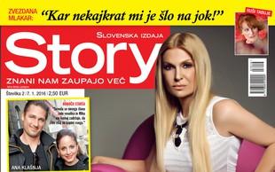 Helena Blagne je ponosna na sina, piše nova Story