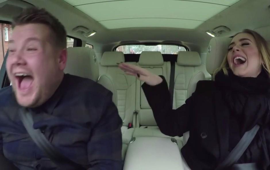 Adele, ko poje karaoke na Adele v avtu? Noro! Morate videti! (foto: profimedia)