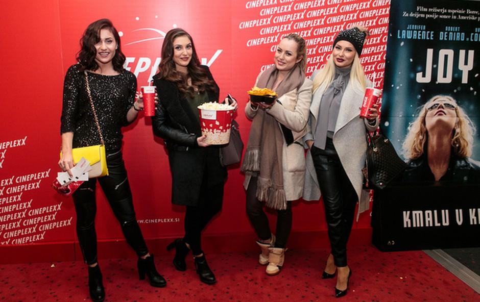 Anja Jenko, Nina Retar, Katarina Bencek in Doroteja Premuzic