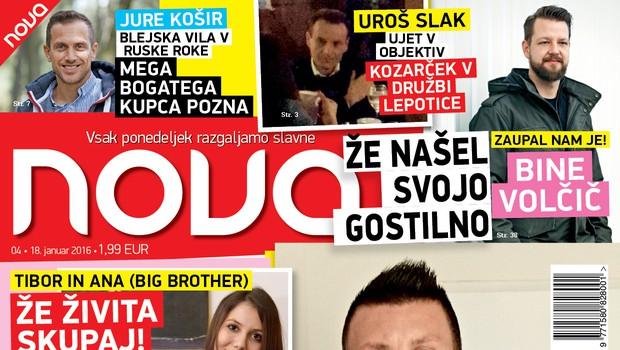 Faki in Maruša sta se razšla? Kdo ga greje zdaj? Piše nova Nova!