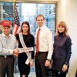 Eric Trump ji je obljubil,  da ob naslednjem obisku  spozna tudi njegovega  očeta Donalda Trumpa. (foto: Osebni arhiv)