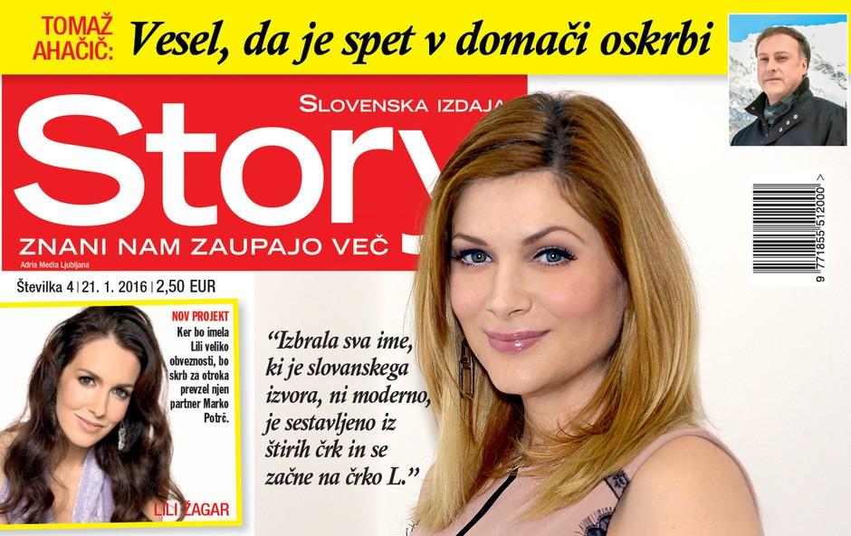Manco Špik je strah poroda, sta pa že izbrala ime otroka, piše nova Story!