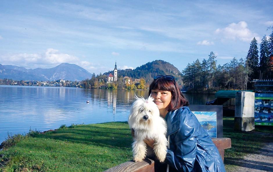 Nataša Bešter: Pes za sproščanje stresa (foto: osebni arhiv)