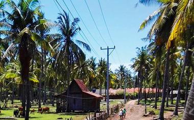 Peter Poles: Uživa na indonezijskih  otokih