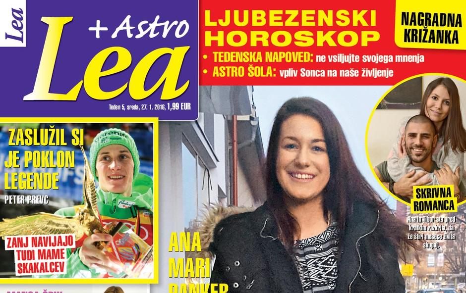 Ana Mari privošči Ani in Tiborju srečo, piše nova Lea!