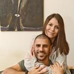 Ana in Tibor sta pred kratkim razkrila,  da že štiri mesece živita skupaj.   (foto: Lea Press)