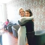 … Ana Maria je  prej delala za  Kanal A, sedaj pa  za Televizijo  Slovenija. (foto: Helena Kermelj)