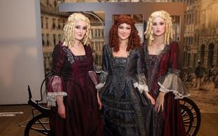 Zabava na Ljubljanskem gradu v slogu šova Bilo je nekoč
