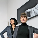 """Aleksandra Ilijevski in Zlata Zavašnik: """"Najin odnos je že skoraj kičast!"""" (foto: Goran Antley)"""