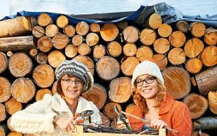 Metka in Tina Ternjak: Vrtičkanje ni le žensko opravilo