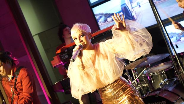 Alya predstavlja novo pesem 'Spet in spet' (foto: Nino Denkovski)