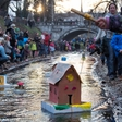 Pozdrav pomladi - Gregorčki zaradi poplavljene Gradaščice odpovedan!