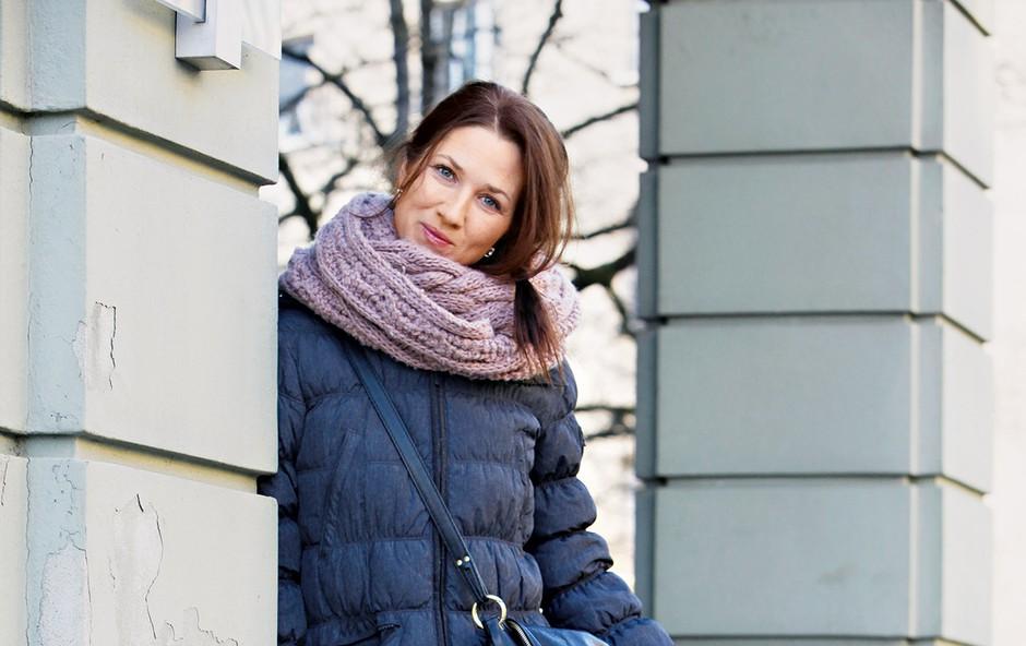 Sabina Kogovšek si ne predstavlja življenja brez hčerk (foto: Helena Kermelj)