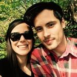 Z Aljažem sta svojo ljubezen začela pisati pred dvema letoma. (foto: Primož Predalič, Helena Kermelj, Sašo Radej, osebni arhiv)