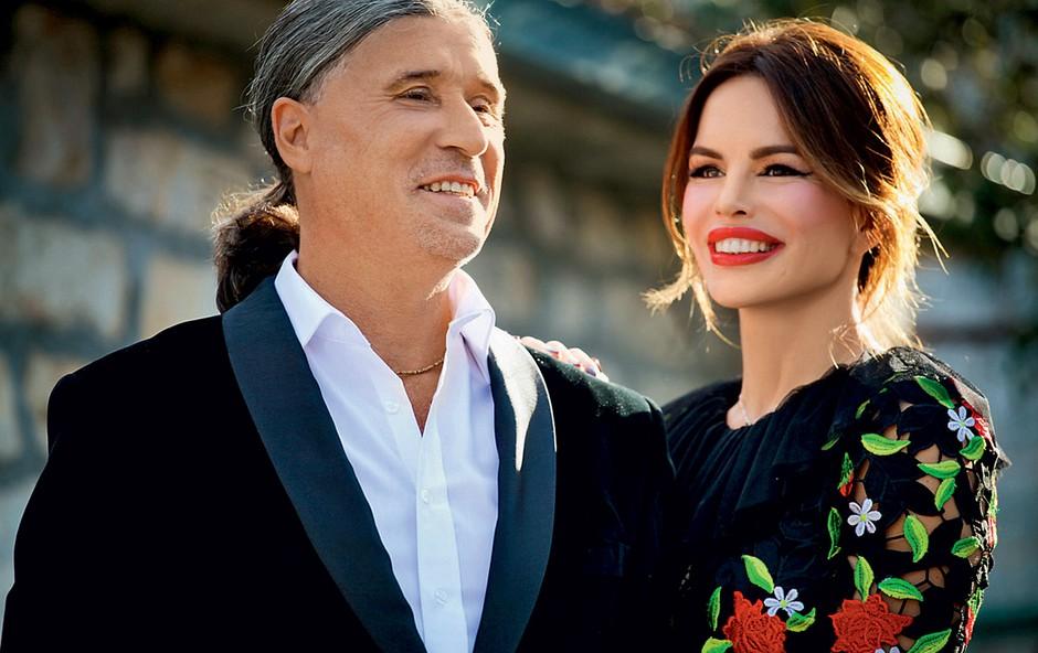 Sverina in Goran Karan sta zapela v duetu.  (foto: Lea Press)
