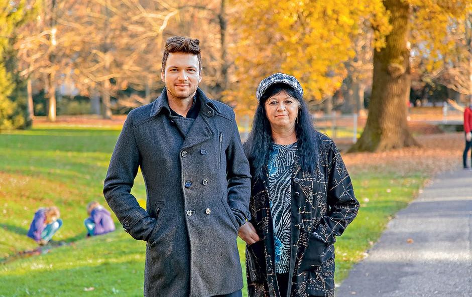 Robert in Danica se od nekdaj odlično razumeta. Čeprav vsak živi na svojem koncu Slovenije, se redno srečujeta in družita.  (foto: Lea Press)