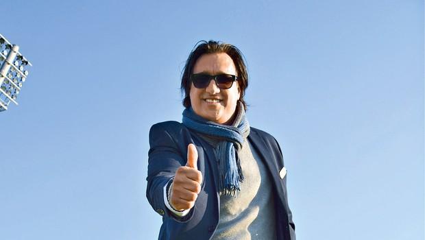 Goran ob dodatnem delu v nogometni sferi ostaja član vseslovensko priljubljene glasbene skupine Mambo Kings, s katero že pripravlja številna glasbena presenečenja.  (foto: Lea Press)