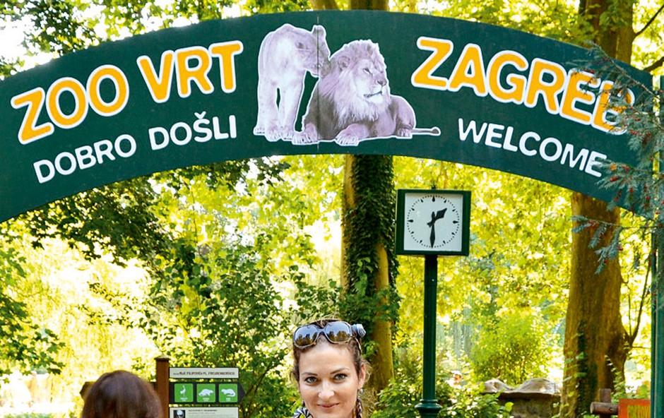 Anaya se že veseli pomladi, ko bosta z mamico obiskali zagrebški živalski vrt.  (foto: Lea Press)