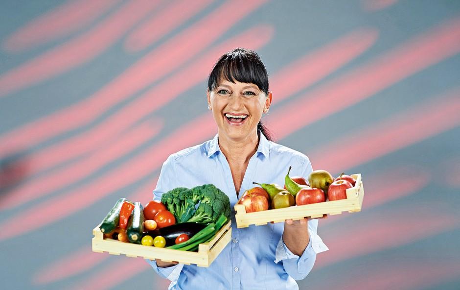 Reza se je lani posvetila kuhi zdravih obrokov. (foto: arhiv POP TV, osebni arhiv)