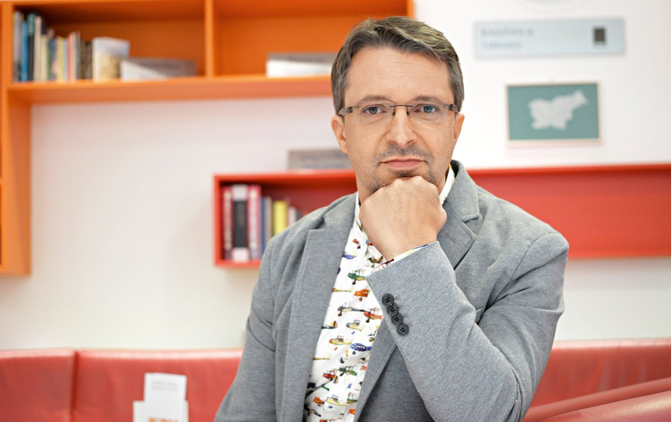 Andrej Hofer: Želi si kritike s težo (foto: Goran Antley)