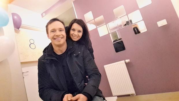 Primož in Nina Jeralič (Televizijska poroka): Leto dni po pravljični poroki (foto: Osebni arhiv)