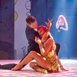 Nadiya Bychkova: Noseča plesna zapeljivka