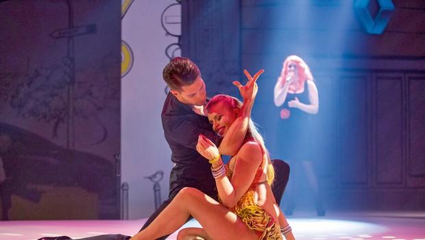 Nadiya Bychkova: Noseča plesna zapeljivka (foto: Matjaž Očko)