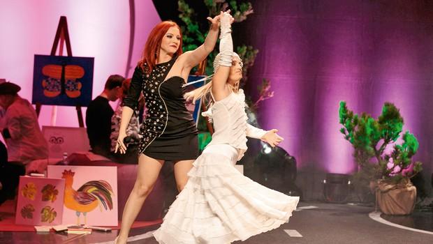 Še posebej jo je ganil plesni nastop Eve Pirnat. (foto: Sandi Fišer)