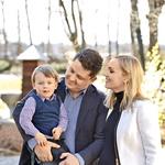 Aleksandra in Luka sta si večno zvestobo obljubila prav na vrtu Dvora Jezeršek v letu 2012. (foto: Primož Predalič, POP TV)