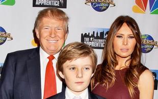 Barron Trump je praznoval 10. rojstni dan
