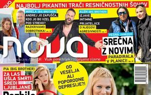 Ali Manco Špik muči poporodna depresija? Več v Novi, ki je izšla na soboto!