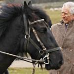 Princ Charles na Highgrovu, na katerega je izjemno ponosen. (foto: Lea Press)