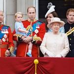 Tri generacije kraljev. Princ Charles, princ William in princ George. (foto: Lea Press)