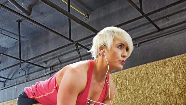 Simona kljub utrujenosti še nikoli ni izpustila treninga, ima pa seveda kakšen prost dan za počitek in regeneracijo mišic.  (foto: Osebni arhiv)