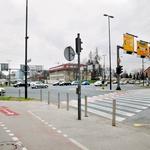 Nesreča se je  zgodila na križišču  pri Parku Tivoli  in Hotelu Lev. (foto: Primož Predalič)