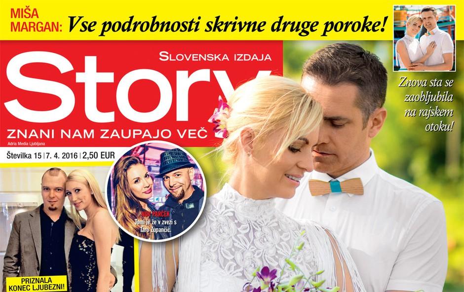 Manca Simčič in Tomi Meglič priznala konec ljubezni, piše nova Story