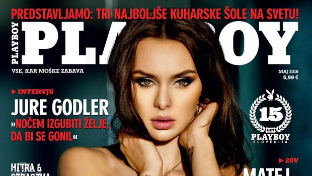 Že čutite poletno vročico? (foto: Playboy Slovenia)