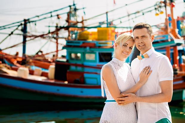 Miša in Gorazd Kocbek: Znova se je poročila! (foto: Dimas Frolov)