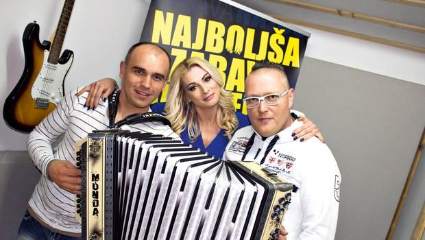 Skupina Skater  s Samcyjem in  Saško napoveduje  novo pesem  z DJ Boštjanom.  (foto: Skater)