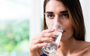 Čiščenje črevesja s slano vodo