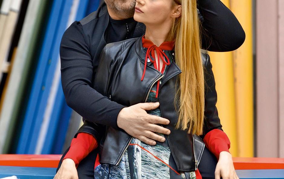 Bojan in Viktorija Emeršič nerada izpostavljata otroke (foto: Primož Predalič, Žiga Culiberg)