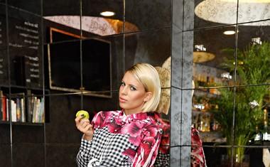 Manja Plešnar: Rada nosim njegova oblačila