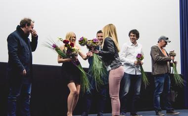 Foto s premiere: Občinstvo izreklo toplo popotnico najnovejšemu filmu Katarine Čas