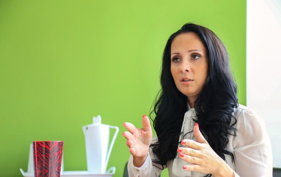 Ana Laura Rednak, izvršna direktorica Plastike Skaza (foto: Barbara Reya)