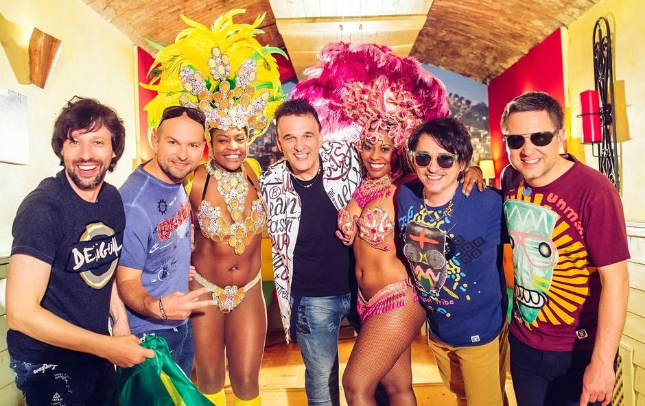 Skupina Kingston z novim singlom in videospotom Alle Alle! (foto: Marko Delbello Ocepek)