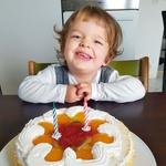 Mišov najmlajši sin Patrik je pred kratkim dopolnil dve leti.  (foto: Miro Majcen (Pop TV), osebni arhiv)