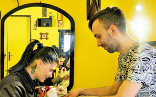 Miha Hauptman (Masterchef): Dva tatuja v enem dnevu