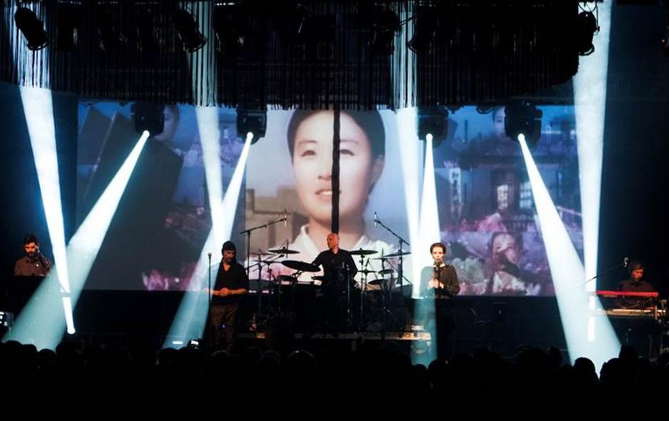 Laibach v Gallusovi dvorani s koncertom 'Naše pesmi, vaše sanje' (foto: Tomislav Gangl)
