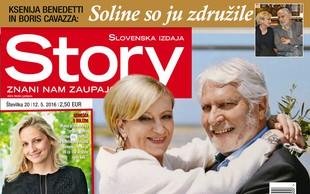 Vse o poroki leta Ksenije Benedetti in Borisa Cavazze v novi Story!