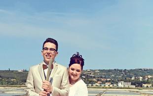 Ana Ovnič in Peter Verdnik (Televizijska poroka): Utrinki s poročnega dne